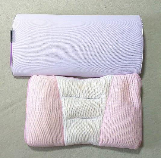 スリープマージピローと今まで使っていた枕